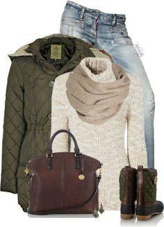Outfits Ideas de Polyvore para Invierno 13