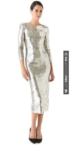 Yes - alice + olivia Abbey Sequin Dress   CHECK OUT MORE GREAT BLACK AND WHITE WEDDING IDEAS AT WEDDINGPINS.NET   #weddings #wedding #blackandwhitewedding #blackandwhiteweddingphotos #events #forweddings #iloveweddings #blackandwhite #romance #vintage #blackwedding #planners #whitewedding #ceremonyphotos #weddingphotos #weddingpictures