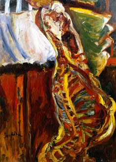 Side of Beef (Chaim Soutine - circa 1922-1923)