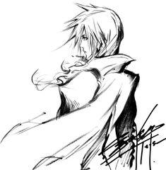Lightning Returns: Final Fantasy XIII - Lightning Sketch