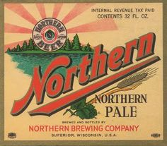 Northern Pale ale label