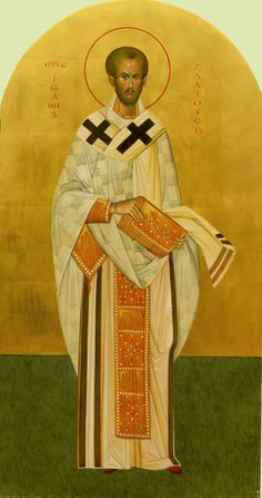 Άγιος Ιωάννης Χρυσόστομος / Saint John Chrysostom John Chrysostom, Byzantine Art, Early Christian, Catholic Art, Orthodox Icons, Christianity, Nostalgia, Saints, Santa Maria