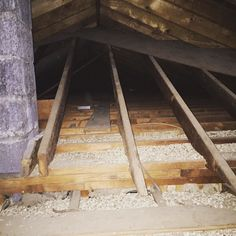 Attic Vermiculite Asbestos Insulation - Zonolite Can Help Pay for the Removal #roc #rochesterny #vermiculite #asbestos