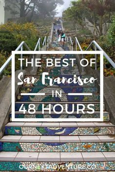 The Best of San Francisco in 48 Hours: the perfect 2 day itinerary for all the city's must-see spots // California Road Trip Family Travel Travel with Kids Pacific Coast Highway, West Coast Road Trip, Road Trip Usa, San Diego, Salt Lake City, Pier Santa Monica, Nationalparks Usa, Places To Travel, Travel Destinations