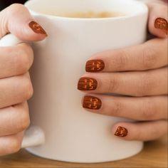 Halloween Fingernails Cool Pumpkin Nail Decals - diy cyo personalize design idea new special