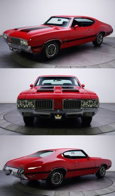1970 Oldsmobile 442 W30 Holiday Coupe