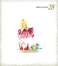 If a Barbie was your favorite childhood memory, these miss lanvin dolls will knock your socks off! A great way to upgrade those childhood memories. Lanvin, Versace, Barbie, Iconic Women, Fashion Dolls, Childhood Memories, Love Fashion, Nice Dresses, Aurora Sleeping Beauty