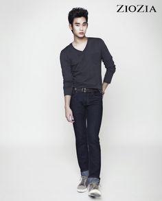 Kim Soo Hyun (김수현) for ZIOZIA (지오지아) 2012 F/W #7 #KimSooHyun #SooHyun #ZIOZIA