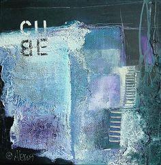 """Alexandra von Burg, """"Cube""""  Mit einem Klick auf """"Als Kunstkarte versenden"""" versenden Sie kostenlos dieses Werk Ihren Freunden und Bekannten."""