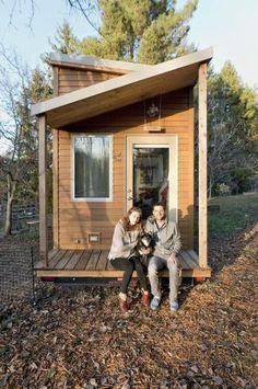 Миниатюрный домик для двоих (© Rex Features/FOTODOM.RU)