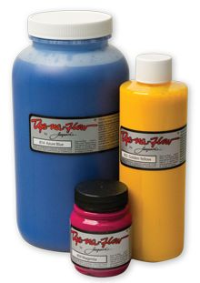 This free-flowing, concentrated fluid acrylic paint is beautiful on any untreated fabric, and in many ways simulates a true dye. Dye-Na-Flow spreads on fabric until it is thoroughly absorbed and even. It will not change the feel of the fabric.  Heat set with a dry iron or use Jacquard Airfix (an alternative means of fixing, more commonly used in production runs).