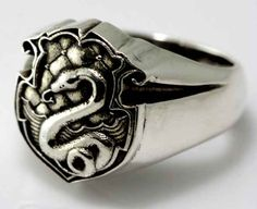 A ring Draco Malfoy would be proud to wear ($60.54).