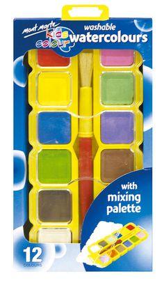Watercolor Paint Set, Kids Watercolor, Art Shed, Painting Accessories, Pastel Pencils, Kids Corner, Online Painting, Coloring For Kids, Paint Colors