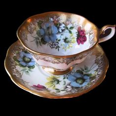 4:00 Tea...Royal Albert...Portrait Series...teacup and saucer