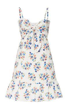 Herrera Maxi Dress by Andres Otalora | Moda Operandi Dress Outfits, Cute Outfits, Fashion Outfits, Womens Fashion, Crepe Dress, Summer Looks, Printed Cotton, Fashion Beauty, Floral Prints