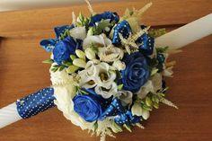 lumanare botez baiat - Google Search Baptism Candle, Candels, Baby Shower Decorations, Christening, Floral Wreath, Baby Boy, Bouquet, Wreaths, Wallpaper