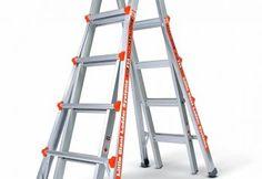 Little Giant Ladder Systems, Alta-One 22 ft. Aluminum Multi-Position Ladder with 250 lb. Load Capacity Type I Duty Rating, at The Home Depot - Tablet Ladder Leveler, A Frame Ladder, Best Ladder, Rolling Ladder, Aluminium Ladder, Bathroom Exhaust Fan, 1. Tag, Soldering, Ladder