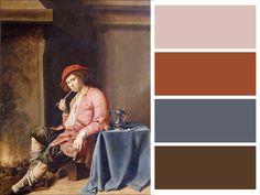 Giovane fumatore, Jan Miense Molenaer, 1635 circa, collezione Giovanni Morelli, 1891#accademiacarrara #bergamo