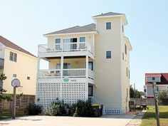 """Wright by the Sea"" has a great location at Mile Post 9.5, in Kill Devil Hills. It is an amazing pet-friendly home for your family's vacation with just a short walk to the sand and sea. Positioned near many family attractions such as the Wright Brothers National Memorial and Jockey's Ridge State Park, as well as many local favorite restaurants and great shopping.You will love the home itself with 6 CATVs, 6 DVDs, and 2 VCRs inside. Outside you will find your very own private pool (11x20)…"