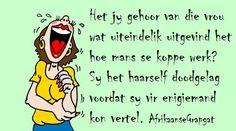 Afrikaans, Jokes, Comics, Funny, Garden, Garten, Husky Jokes, Animal Jokes, Comic Book