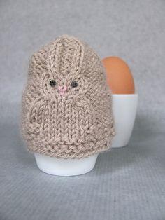 Ravelry: Easter Bunny Egg Warmer pattern by Mariëlla Verhage