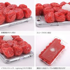 Revenge Lunch / Plum Food Case for iPhone 6