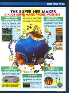 Page 2 of 3 of a #SuperMarioWorld and #SNES feature from Nintendo Power Magazine Vol. 27  More #SuperMario Nintendo Articles @ http://www.superluigibros.com/nintendo-power-articles/