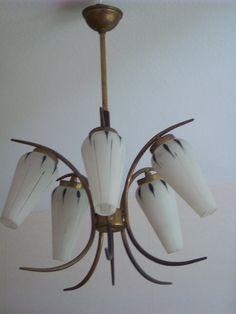Fransk retro lampa