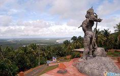 Hanuman Statue, Ezhimala Hill, Kerala @ http://ijiya.com/8236276