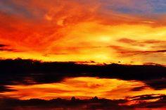 Title  Reflection In The Sky - Little Grass Valley Reservoir   Artist  Christina Ochsner   Medium  Photograph - Photograph