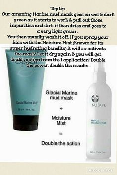 Glacial marine mud mask & moisture mist Use in combination for twice the benefit Anti Aging Tips, Anti Aging Skin Care, Epoch Mud Mask, Marine Mud Mask, Glacial Marine Mud, Skin Toner, Anti Aging Cream, Health And Beauty, Moisturizer