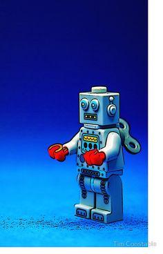 Robbie the Robot Robots, Lego, Sci Fi, Science Fiction, Robot, Legos