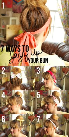 7 ways to jazz up your bun