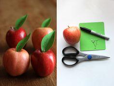 DIY Fresh-Picked Escort cards