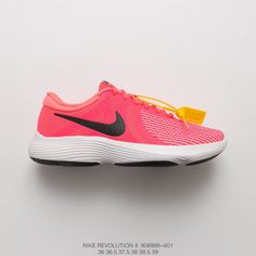 newest d7684 0656f Fsr Nike 2018 Deadstock Womens Nike Revolution 4 Trainers Shoes