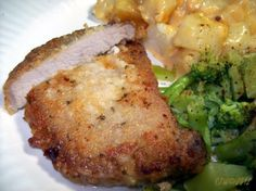 Perfect Fried Pork Chops - This surely made some nice moist pork chops.  I'm not really certain they had enough spices for my liking.  I'll add more next time, but the chops themselves and method I give a BIG THUMBS UP to!