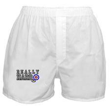 Really Hard curling call Boxer Shorts