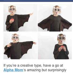 Bat costume (image only)