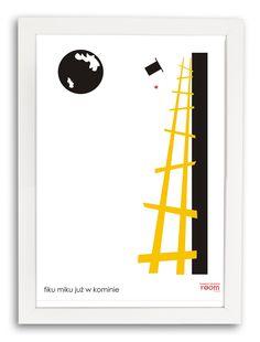 Plakat Kominiarz cz.2 w białej ramce