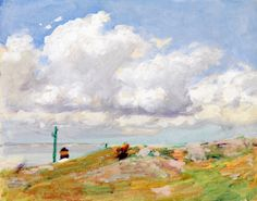 The Athenaeum - Clouds (Edward Potthast - )