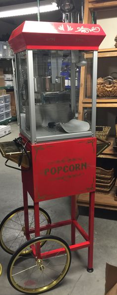popcorn machine popcorn recipe