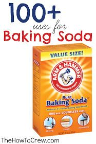 The How-To Crew: How-To Use Baking Soda {100+ Uses}