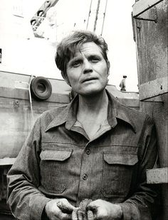 Jack Lord as Steve McGarrett from the television program Hawaii Five-O.