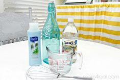 Homemade Fabric Softener Recipe Ingredients - Around 5 cents per load!