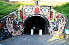 A selection of street art creations by Italian artist Mister Thoms! With unstructured characters, elastic dynamic and colorful and explosive universe, Mister T