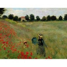 Le Jardin de Monet à Argenteuil, 1873 par Claude Monet