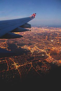 City lights || night flight
