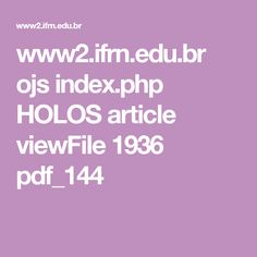 www2.ifrn.edu.br ojs index.php HOLOS article viewFile 1936 pdf_144