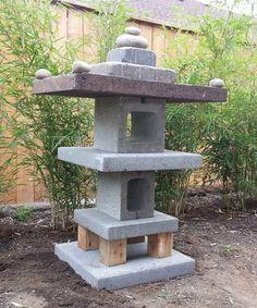 Asian Garden, Easy Garden, Diy Garden Projects, Diy Garden Decor, Art Projects, Garden Ideas, Garden Decorations, Outdoor Zen Garden Diy, Project Ideas