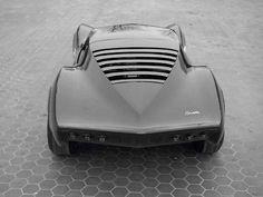 1965 Corvette XP 830 Mako SharkII design by Larry Shinoda. (via...